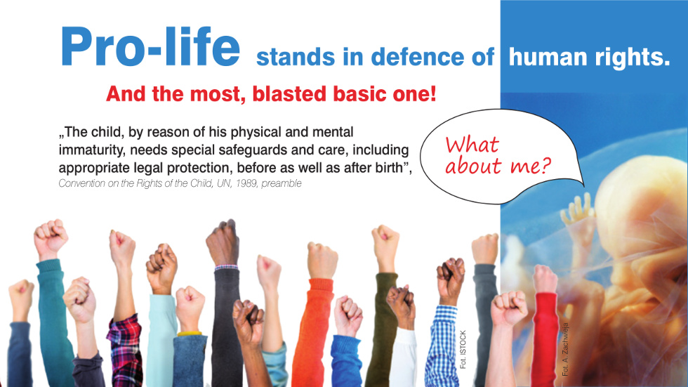Pro-life stands in defence of human rights